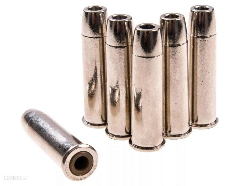 "Douilles métal cal.4,5mm ""plombs à jupe"" COLT Peacemaker SAA.45 (Blister de 6)"