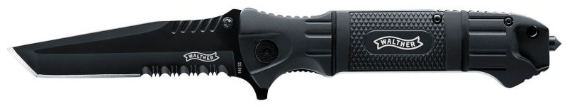 Couteau pliant Walther BTTK - Black Tac Tanto Knife