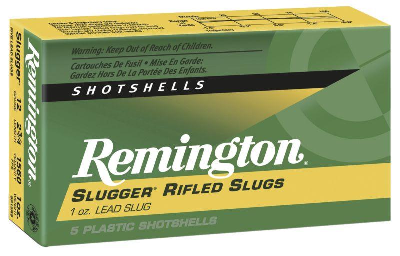 Balles REMINGTON Slug Hollow Point cal.12/70 (boite de 5)