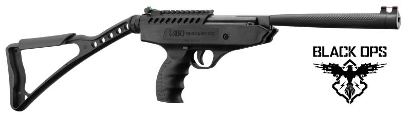 Pistolet à plombs BLACK OPS Langley Pro Sniper (13.7 joules) cal.4,5mm