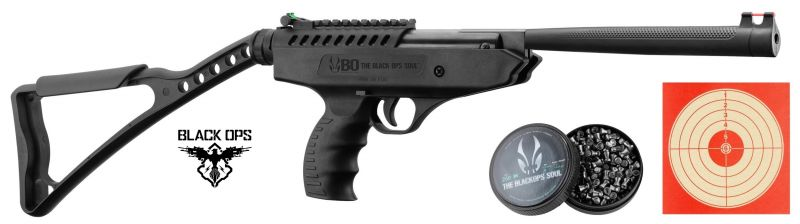 Pistolet à plombs BLACK OPS Langley Pro Sniper (10 joules)