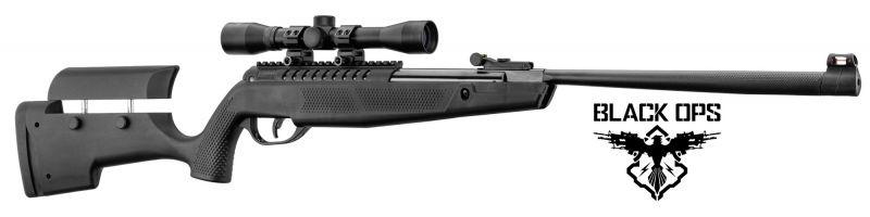 Carabine à plombs BLACK OPS BENNING (19,9 joules) cal.4,5mm