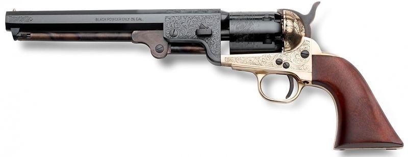Revolver à Poudre Noire Pietta 1851 Reb Nord Navy Deluxe