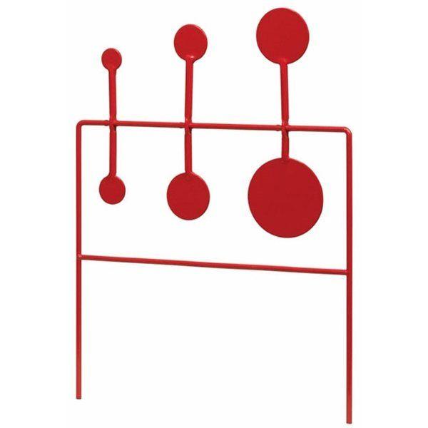 Cible métallique Oscillante 3 postes STOEGER