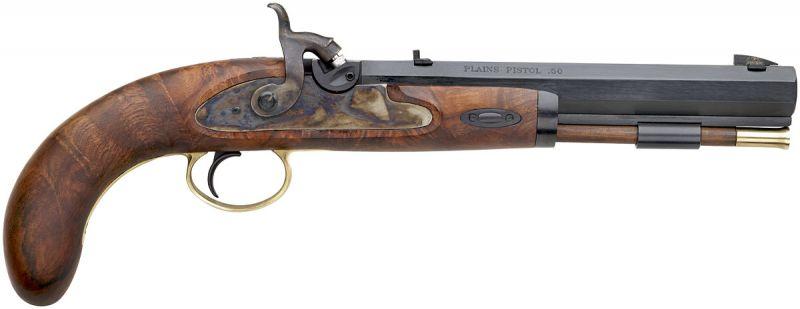 Pistolet à poudre noire INVESTARM Hawken percussion cal.45