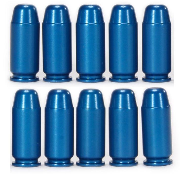 Blister de 10 douilles amortisseur A-ZOOM Blue cal.40 S&W