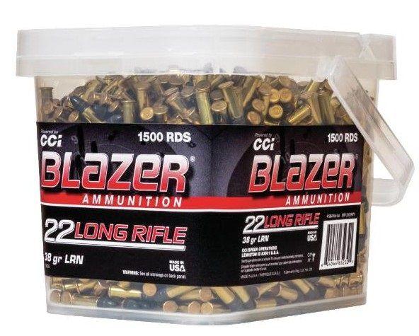 CCI 22lr Blazer Round Nose HV /1500