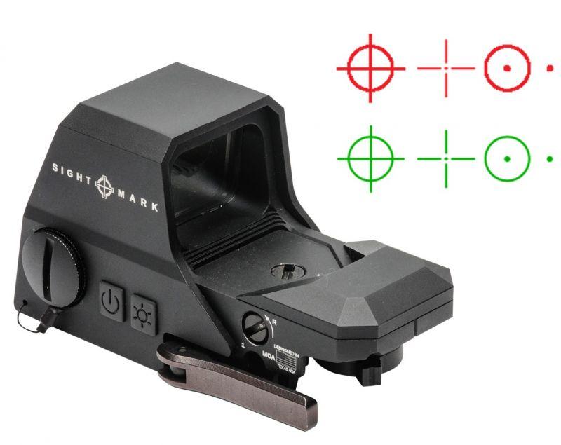 Viseur point rouge SIGHTMARK Ultra Shot R-Spec Reflex Noir Multi-Réticule