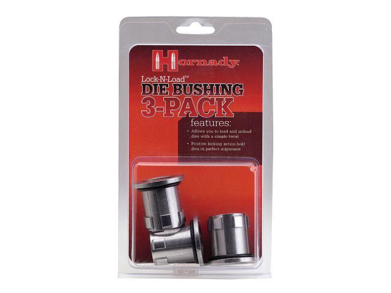 Verrou rapide pour presse de rechargement HORNADY lock-N-Load Die Bushings (Pack x3)