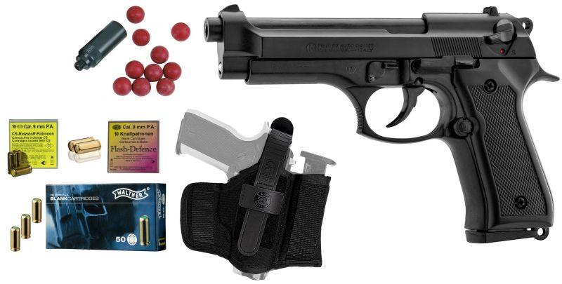 Pistolet KIMAR 92 Auto Bronzé Défense cal.9mm PA (M7x100)