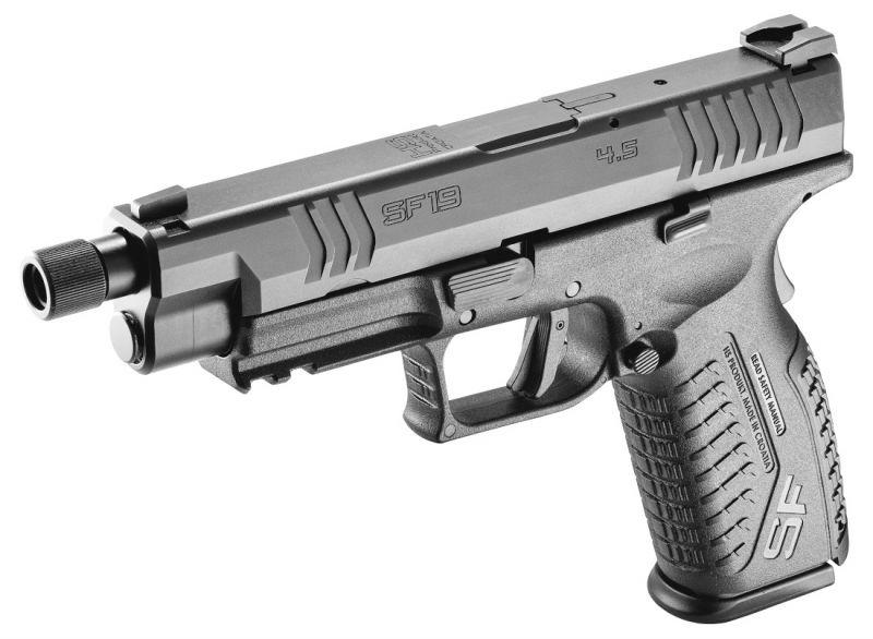 Pistolet HS PRODUKT SF19 Tactical Black 4.5