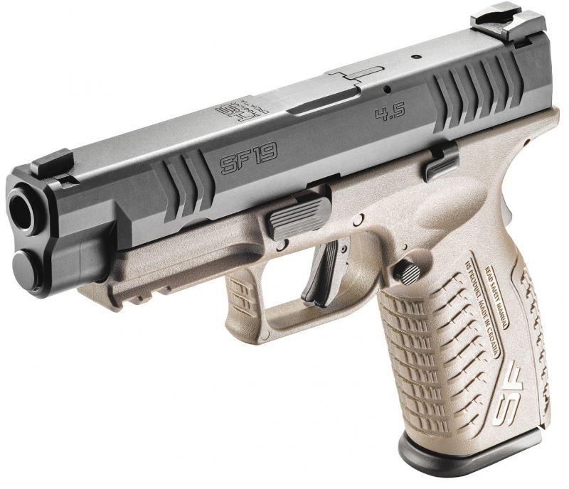 Pistolet HS PRODUKT SF19 Black/FDE 4.5