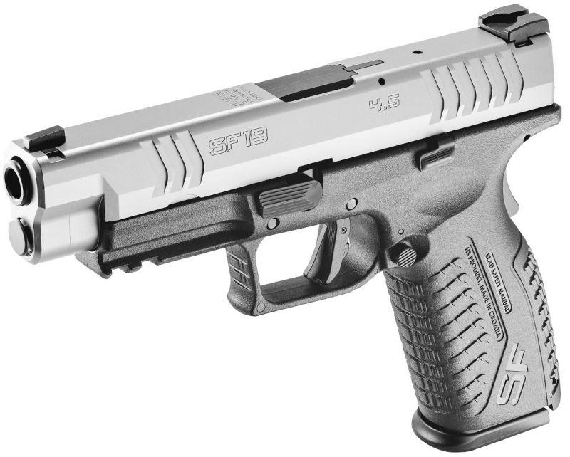 Pistolet HS PRODUKT SF19 Black/Stainless 4.5