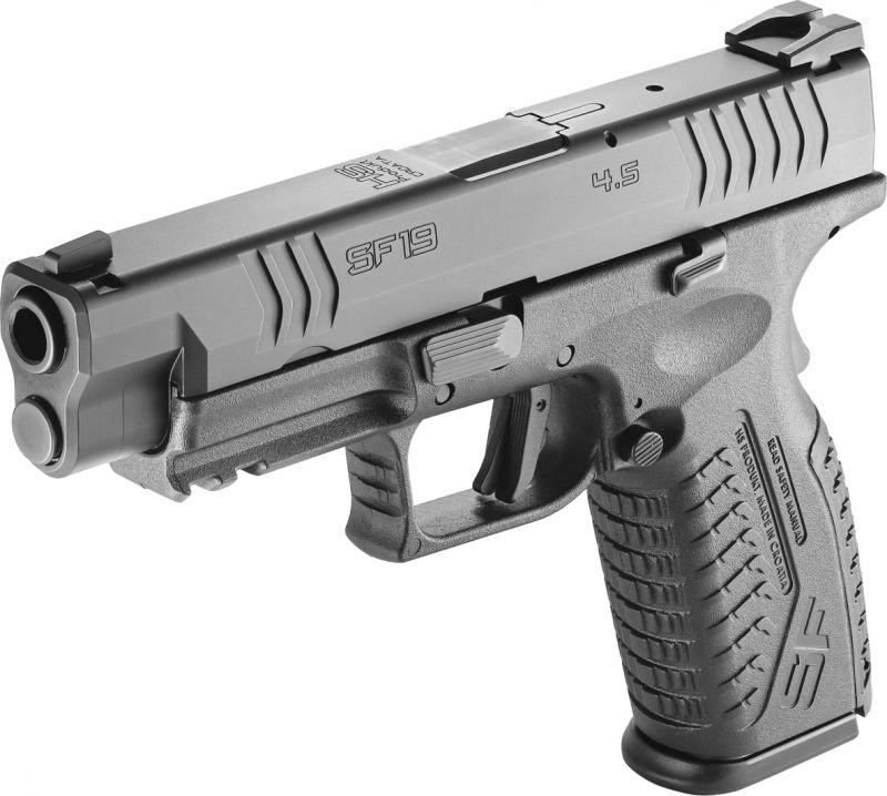 Pistolet HS PRODUKT SF19 Black 4.5