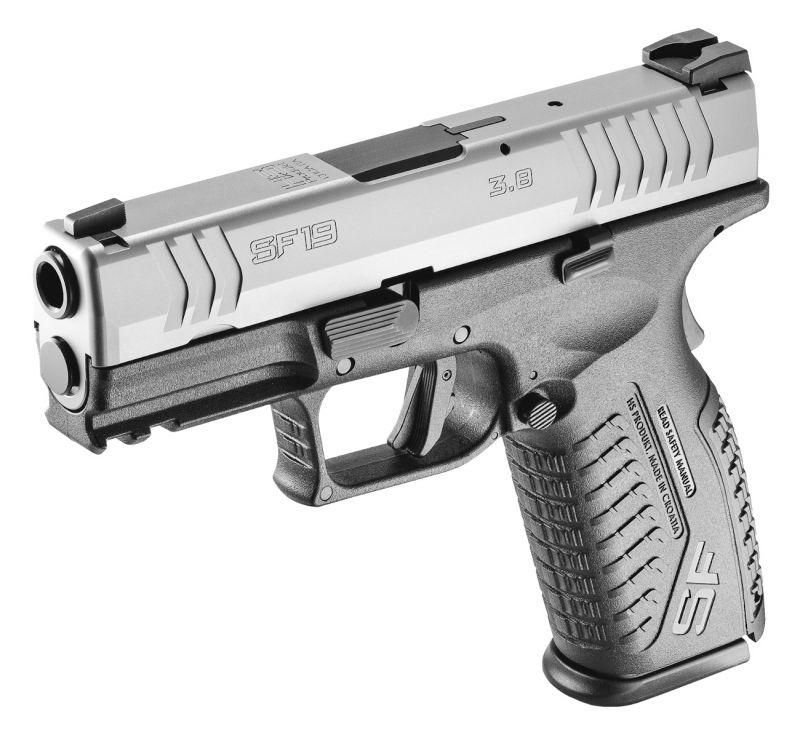 Pistolet HS PRODUKT SF19 Black/Stainless 3.8