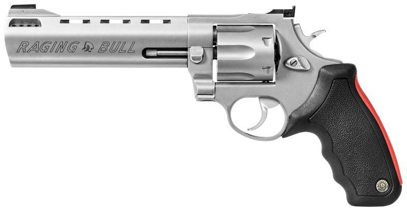 """Revolver TAURUS 444 RAGING BULL 6"""" 1/2 Inox calibre 44 Magnum"""