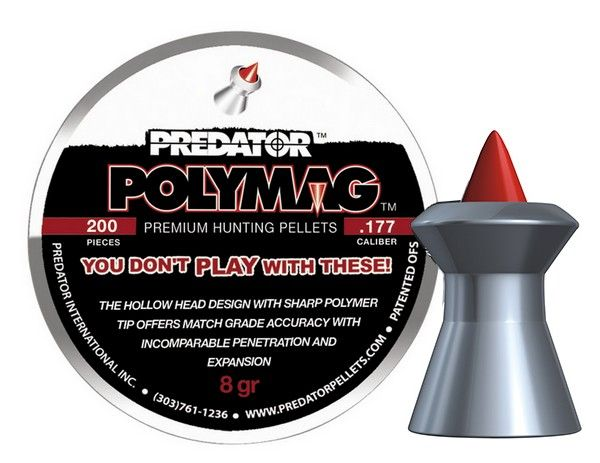 Plombs 4.5 PREDATOR ''Premium Hunting Pellets'' (0,53 gr )
