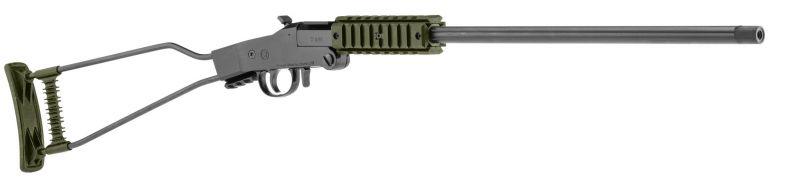 Carabine 22LR pliante CHIAPPA Little Badger Varmint OD GREEN monocoup