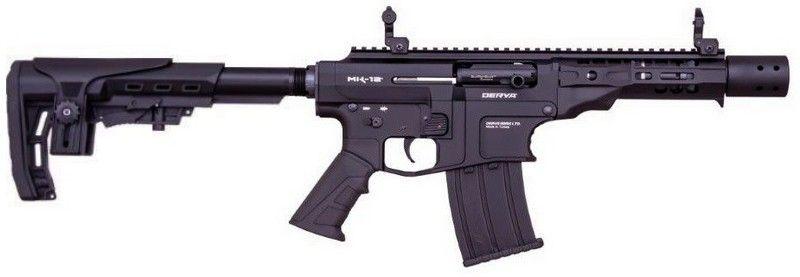 Fusil semi-automatique DERYA MK-12 TACTICAL AS-220S Noir cal.12/76