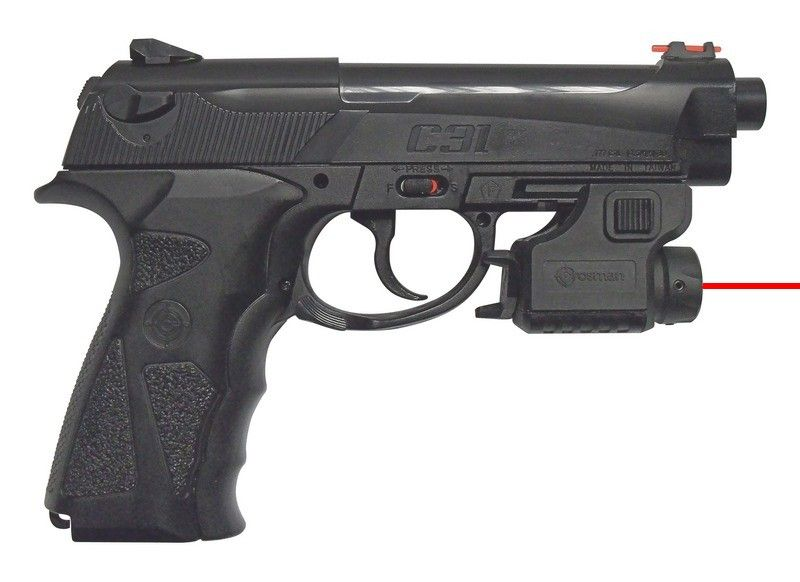 Pistolet C31 Laser Tactical CROSMAN cal.4,5mm BB's