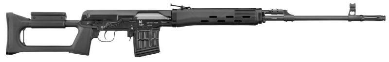 Carabine AK47 IZHMASH KALASHNIKOV TIGR-SVD (62 cm) cal.7,62x54 R (Catégorie C)
