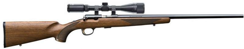 Carabine 22LR BROWNING T-BOLT Sporter avec lunette LYNX Varmint 6-24x42 AO