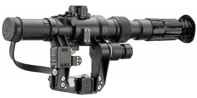 Lunette militaire NPZ PO3-9x24 pour TIGR-SVD