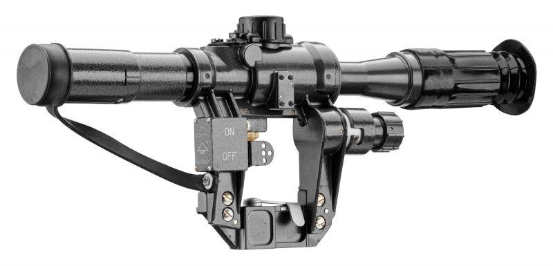 Lunette militaire NPZ PO2.5x18 pour AK-SAIGA