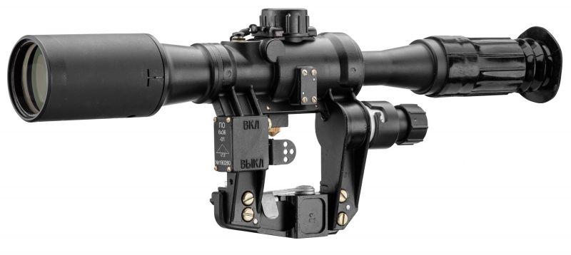 Lunette militaire NPZ PO6x36 pour TIGR-SVD
