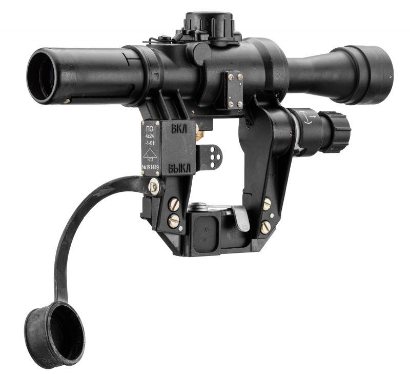 Lunette militaire NPZ PO4x24 pour TIGR-SVD