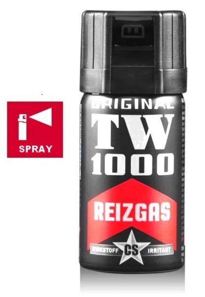 Bombe lacrymogène TW1000 Spray CS Man