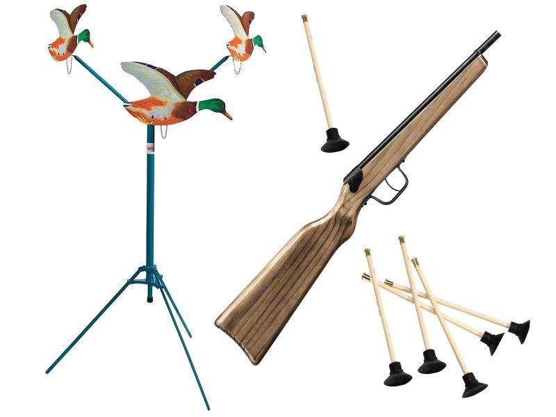 Tir aux Pigeons mécanique SPEEDY (3 canards)