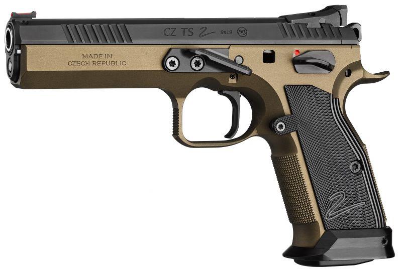 Pistolet CZ 75 TS 2 Deep Bronze calibre 9x19