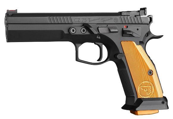 Pistolet CZ 75 Tactical Sport Orange calibre 9x19