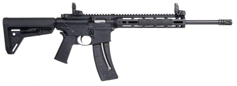 SMITH & WESSON MP15-22 SPORT MOE SL BLACK 16.5