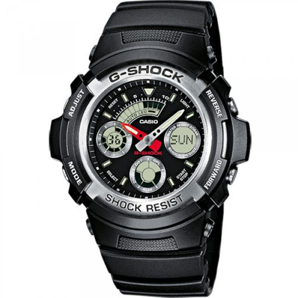 Montre Casio G-Shock Classic AW-590 noir