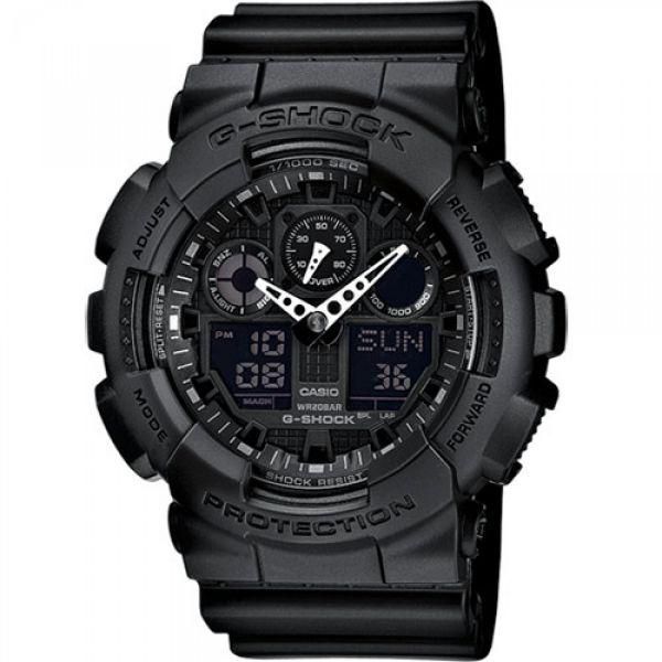 Montre Casio G-Shock Classic GA-100 noir