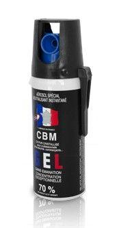 Bombe lacrymogène CBM GEL CS 70% - 50 ml
