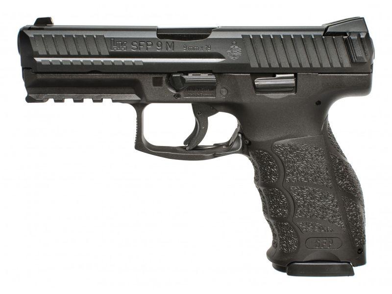 Pistolet HK SFP9M-SF Noir cal.9x19