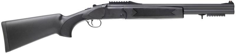 Superposé Khan Arms INTEGRA Slug Synthétique Black cal.12/76 (51cm)