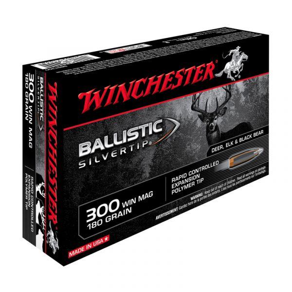 WINCHESTER cal.300 Win Mag Ballistic Silvertip 180 grains - 11.7 grammes /20