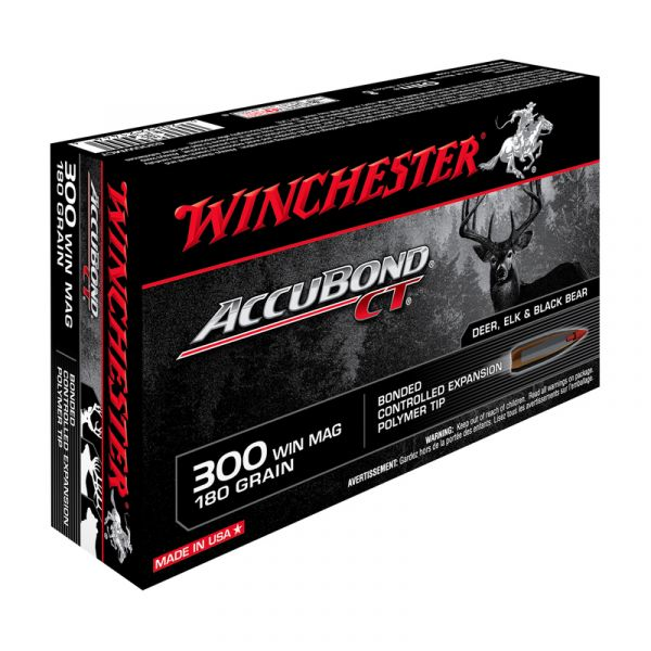 WINCHESTER cal.300 Win Mag Accubond CT 180 grains - 11.7 grammes /20
