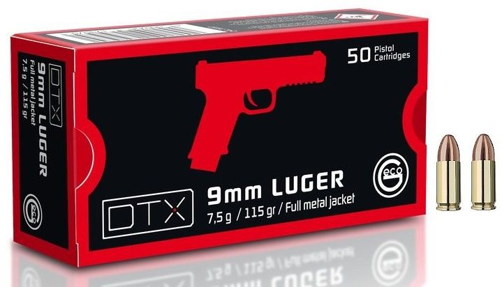 GECO cal.9mm PARA FMJ (115gr)