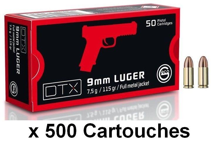 GECO cal.9mm PARA DTX FMJ (115gr) /500