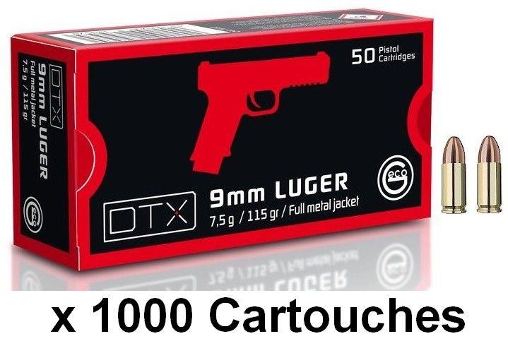 GECO cal.9mm PARA DTX FMJ (115gr) /1000