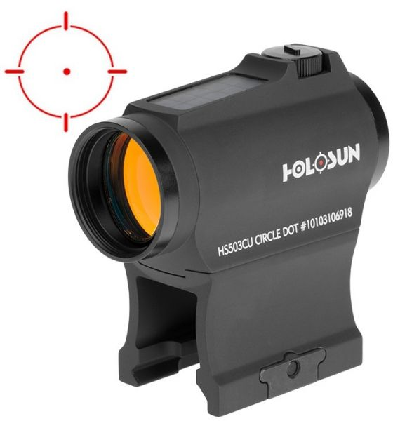 Viseur point rouge HOLOSUN Red Dot 503CU