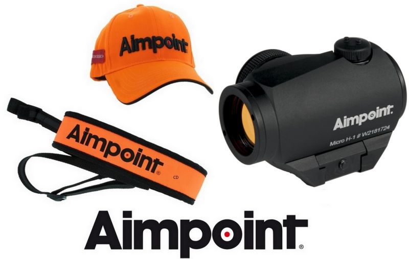 Viseur point Rouge AIMPOINT MICRO H-1 2MOA