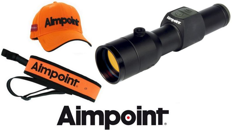 Viseur point Rouge AIMPOINT HUNTER H34S 2MOA