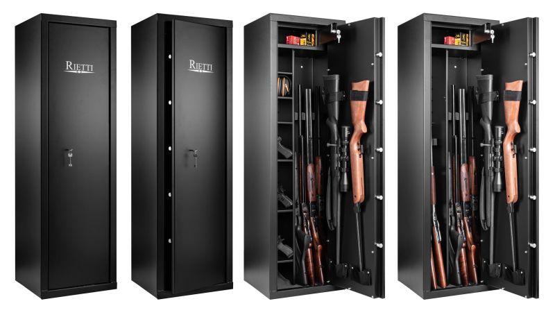 Coffre pour armes RIETTI Classic 70kg (9 modulables armes)