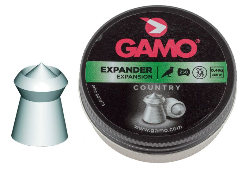 Plombs 4.5 Gamo EXPANDER Country (0.49gr) x250
